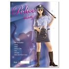 Sexy Police Ladies Fancy Dress Complete Set Adult Hen Party Womens Costumes