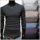 (VR01) THELEES Mens Casual Basic Slim fit Round neck Tshirts