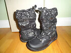 NIB New North Face Shiny BLACK ICE QUEEN Women Snow Winter Boots 5, 5.5, 10, 11