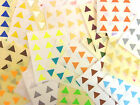 10mm Triangle Colour Code Stickers Coloured Sticky Self-Adhesive Labels