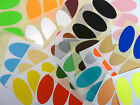 40x20mm Oval Colour Code Stickers Coloured Sticky Self-Adhesive Labels
