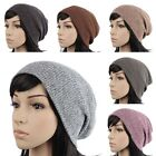 D1028 UNISEX BEANIE CROCHET KNIT HAT WOMEN MEN SLOUCH OVERSIZE BAGGY