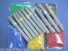 """100 6"""" WIRES+200 ROLLER TUBES FOR DCA 2 3 4 5 6 7 8 LEAD WEIGHT BREAKAWAY MOULD"""