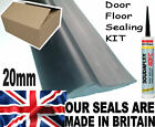 GARAGE DOOR HEAVY DUTY FLOOR MOUNT 20mm THRESHOLD WEATHER SEAL DRAUGHT EXCLUDER