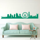 London Skyline British Wall Sticker Art Diy Decal Fun Removable £9.99 Decal A220