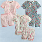 "NWT Vaenait Baby Toddler Boy Girl Short Sleeves Pyjama Set "" The Lacy Rounds """