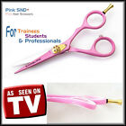 Hairdressing Scissors Hair Scissors Barber Shears PINK OFFSET professional