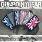 Gun Point Gear Velcro Morale Patch Union Jack Flag Small Multicam MTP British UK