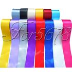 "1 Roll 25 Yards 2"" 50mm Satin Ribbon Craft Bow Wedding Party Supply Colours"