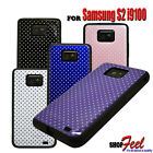 FOR SAMSUNG GALAXY S2 I9100 VARIES POLKA DOTS SOFT SILICONE GEL PHONE CASE COVER