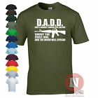Dads Against Daughters Dating funny fathers teenagers spoof gun M16 t-shirt