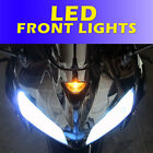 LED Upgrade Kawasaki ZZR1200 Front LED DRL Daytime Running Lights Bulb ZZR600