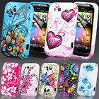 NEW STYLISH GRIP BUTTERFLY SERIES GEL CASE COVER FITS HTC WILDFIRE S G13 G8S