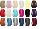 C1 NEW WOMENS LADIES LONG SLEEVE BOYFRIEND CARDIGAN WITH TWO POCKETS 08,10,12,14