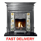 NEW GALLERY EDWARDIAN CAST IRON COMBINATION FIREPLACE *FREE DELIVERY IN MAIN UK*