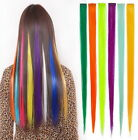 "10 Streaks 22"" Clip in Hair Extensions choose colors"