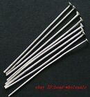 Free Shipping 500pcs Silver Plated Head Pins Needles Finding For Crafts 70mm