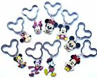 Mickey or Minnie Mouse Charm Pendant EARS Keyring Choice of Designs from UK