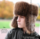 NEW ARKTIKA TM SIBERIAN FULL FUR USHANKA HAT Men's NAFA CANADIAN BEAVER Mountain