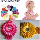 Elastic BabyGirl/Adult Headbands children Hairband and flower New Free Delivery