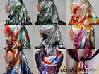 "CUTE ITALY DESIGN TURKISH QUALITY SILK SATIN 37X37"".SQU.SCARF/HIJAB/TURBAN/SHAWL"