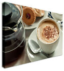 Choc Sprinkled Coffee Mocha Canvas Prints Wall Art Picture Large Any Size