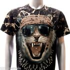 b58 Survivor T-shirt M L XL XXL SPECIAL Tattoo STUD Skull Tiger Cat Demon Indie