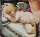 Sleeping Cupid Italian Venetian 17th Century-Repro Art Photo/Poster Print Satin
