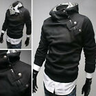 New fashion Winter Mens fitted hoodies Jacket Coat Outerwear Sweatshirt TOPS