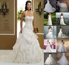New white/ivory wedding dress Bridesmaid dresses Stock size 6-8-10-12-14-16-18