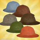 Vietnam Style GI Type Pith Helmet - Made In The USA, Resin Coated Fiber