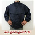 J001- U.S Authentic -  Windbreaker - Regenjacke - Windjacke dunkelblau  S - XXL