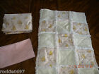 POOH BEAR TODDLER RAG QUILT OR CRIB QUILT 3 PC SETS -Winnie the pooh blanket