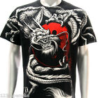 r43 Rock Eagle T-shirt SPECIAL Tattoo Japanese Dragon Hunter RYU Funky Casual