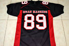 EDDY CHEESEBURGER #89 MEAN MACHINE LONGEST YARD MOVIE JERSEY BLACK- ANY SIZE