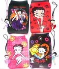 Betty Boop mobile phone/iPod/MP3 Sock Cover Case + Charm, Key-ring OR Bookmark £3.75 GBP