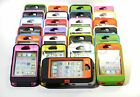HEAVY DUTY IMPACT HARD CASE W / BUILT IN SCREEN PROTECTOR FOR iPHONE 4 4S PHONE