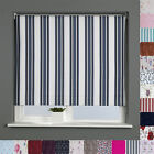 BLACKOUT ROLLER BLINDS - PATTERNED - MANY SIZES & DESIGNS AVAILABLE - TRIMMABLE