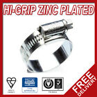 JCS Worm Drive Hose Clips HiGrip Clamps Radiatior Air Water Fuel Silicone Pipe