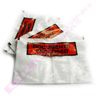 A7 SMALL PRINTED DOCUMENT ENCLOSED WALLETS LABELS SLIPS CHEAP OFFER *SELECT QTY*