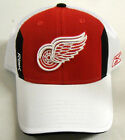 NHL Detroit Red Wings Reebok Pro Shape Flex Mesh Back Cap Hat NEW