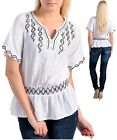 NEW IMPORTED LOVELY WHITE PARTY TOP  WITH SEQUINS
