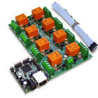 Eight(8) Channel Way Relay Board for Remote Management & Control - SNMP, Web, IP