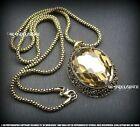 *NEW ARRIVAL MORDEN & VINTAGE STYLES* OVAL PENDANT NECKLACE & LONG NECKLACE