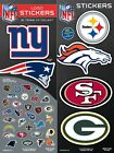NFL Football Team Logo Sticker Chose Your Own some teams buy one get one free on eBay