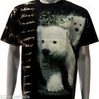 b69 Survivor T-shirt SPECIAL Tattoo Skull Polar Bear Wild Men Street Pet Cute