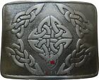 UT Kilts Black Antiqued Kilt Belt Buckle - Several Unique Designs
