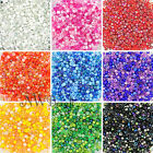 25g Glass Seed Beads 9 Mixed Colour Shades & Types, 2mm 3mm or 4mm, UK Stock