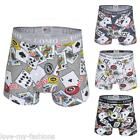 New Mens Poker Boxer Shorts Boxers Pants Underwear Briefs Trunks Size M L XL XXL