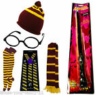 HARRY POTTER GLASSES WAND HAT SCARF SOCKS BRACES FANCY DRESS OUTFIT ACCESSORY'S